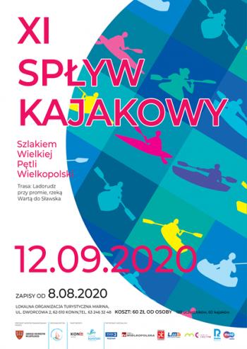 """XI Spływ Kajakowy """"Szlakiem Wielkiej Pętli Wielkopolski"""""""